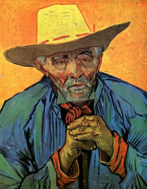 Van Gogh Portrait of Patience Escalier August 1888