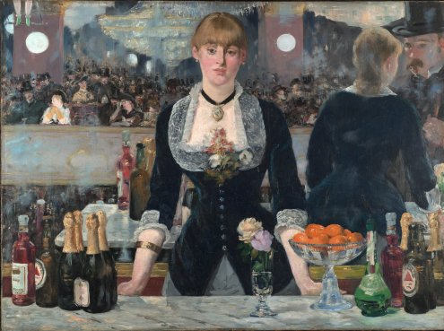 A Bar at the Folies-Bergère. Édouard Manet 1882