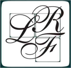 LRF Fine Arts logo