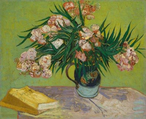 Van Gogh, Oleanders, August 1888. 60.3 x 73.7 cm