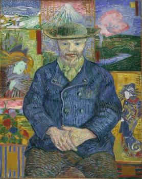 Van Gogh Portrait of Père Tanguy 1887