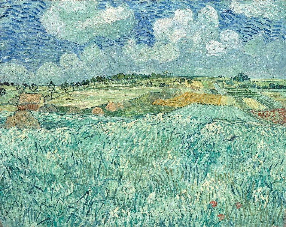 Van Gogh Plain Near Auvers 1890