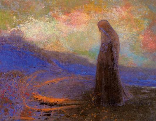 Reflection - Odilon Redon